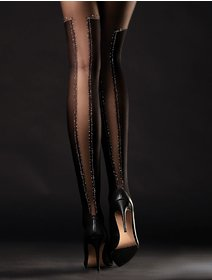 Ciorapi cu fir metalizat Fiore Poison 40 den