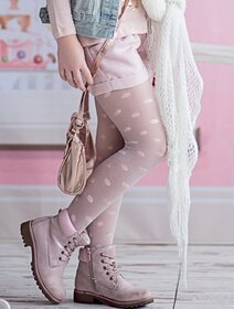 Ciorapi fete cu buline Knittex Lora 20 den