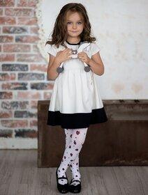 Ciorapi fete cu model buburuze Knittex Ladybird 40 den