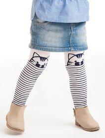 Ciorapi fete cu model pisica Knittex Cat 40 den