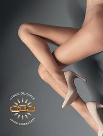 Ciorapi ultra subtiri si rezistenti cu chilot intarit Marilyn Lux Line Air 5 den