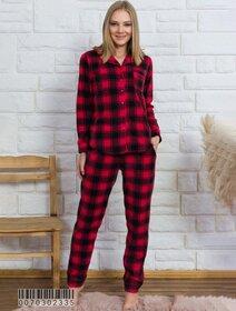 Pijamale polar cu nasturi Vienetta 2335