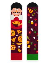Sosete amuzante cu pizzer Nanushki Giuseppe Eataliano