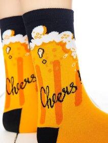 Sosete colorate cu bere Socks Concept SC-1795