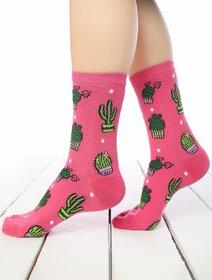 Sosete colorate cu cactusi Brogetti BRG447