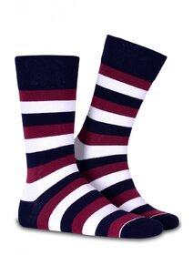 Sosete colorate cu dungi Socks Concept SC-1525
