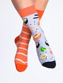 Sosete colorate cu sushi Nanushki Sushi Socks
