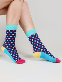 Sosete cu buline colorate The Happy Toe Jolly Dots