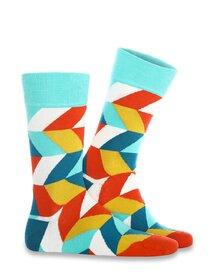 Sosete cu forme geometrice colorate Socks Concept SC-1846