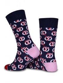 Sosete cu model si varf colorat Socks Concept SC-1527