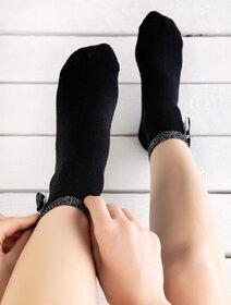 Sosete elegante cu fundita Socks Concept BRG701