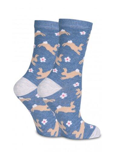 Sosete funny cu iepurasi Socks Concept SC-1597