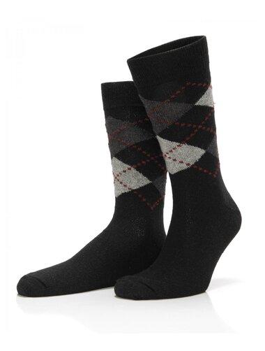 Sosete lana cu model in carouri Socks Concept SC-1604-2