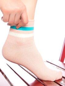 Sosete somon cu dungi colorate Socks Concept SC-1541