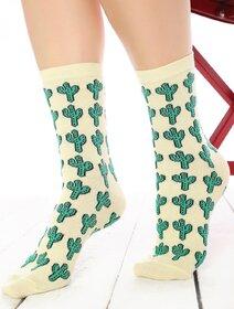 Sosete vesele cu cactusi Socks Concept SC-1646