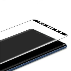 Folie de sticla - Tempered Glass - Black pentru Galaxy Note 9