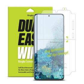 Folie protectie Ringke DUAL EASY WING pentru Samsung Galaxy S20 Transparent