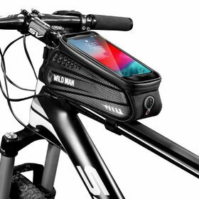 Geanta impermeabila bicicleta cu suport telefon SAKWA WILDMAN L