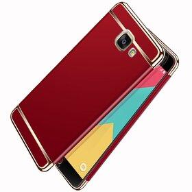 Husa 3 in 1 Luxury pentru Galaxy A7 (2017) Red