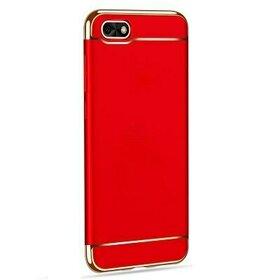 Husa 3 in 1 Luxury pentru Huawei Y5 (2018) Red