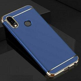 Husa 3 in 1 Luxury pentru Huawei Y9 (2019) Blue