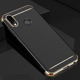 Husa 3 in 1 Luxury pentru Huawei Y9 (2019) Black