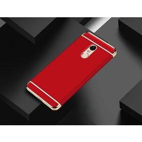 Husa 3 in 1 Luxury pentru Xiaomi Redmi Note 4 Red