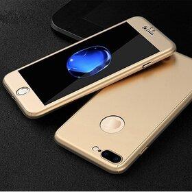 Husa 360 pentru iPhone 7 Plus Gold