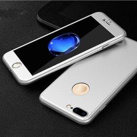 Husa 360 pentru iPhone 7 Plus Silver