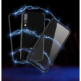 Husa 360 Magnetica cu Sticla fata + spate pentru Galaxy A7 (2018)