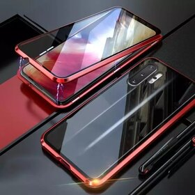 Husa 360 Magnetica cu Sticla fata + spate pentru Galaxy Note 10 Red