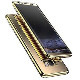 Husa 360 Mirror pentru Huawei P20 Pro Gold