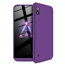Husa 360 pentru Galaxy A10 Purple