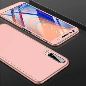 Husa 360 pentru Galaxy A50/ Galaxy A30s Rose Gold