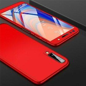 Husa 360 pentru Galaxy A50/ Galaxy A30s Red