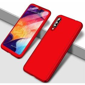 Husa 360 pentru Galaxy A70 Red
