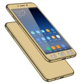 Husa 360 pentru Galaxy J6 Plus (2018) Gold