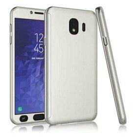 Husa 360 pentru Galaxy J8 (2018) Silver