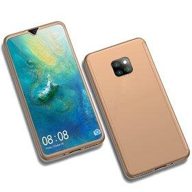 Husa 360 pentru Huawei Mate 20 Pro Gold