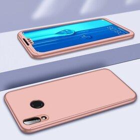 Husa 360 pentru Huawei P Smart Z Rose Gold