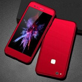 Husa 360 pentru Huawei P10 lite Red