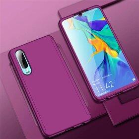 Husa 360 pentru Huawei P30 Purple