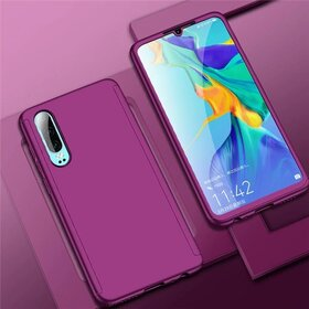 Husa 360 pentru Huawei P30 Lite Purple