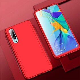 Husa 360 pentru Huawei P30 Lite Red