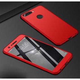 Husa 360 pentru Huawei Y6 (2018) Red