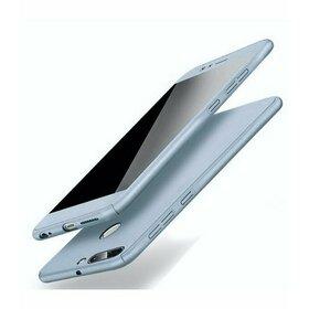 Husa 360 pentru Huawei Y7 (2018)/ Huawei Y7 Prime (2018) Silver