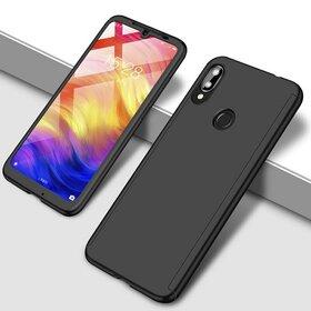 Husa 360 pentru Huawei Y7 Prime (2019)/ Huawei Y7 (2019) Black