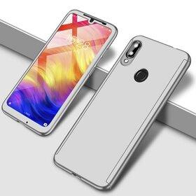 Husa 360 pentru Huawei Y7 Prime (2019)/ Huawei Y7 (2019) Silver