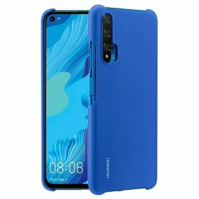 Husa clasica Huawei din policarbonat pentru Huawei Nova 5T / Honor 20 / Honor 20 Pro / Honor 20S Blue