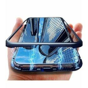 Husa cu Bumper Magnetic si Spate din Sticla Securizata pentru Galaxy A50